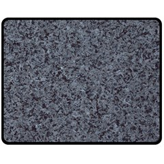 Granite Blue Black 3 Fleece Blanket (medium)