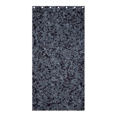 GRANITE BLUE-BLACK 3 Shower Curtain 36  x 72  (Stall)