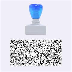 Granite Blue Black 3 Rubber Stamps (medium)