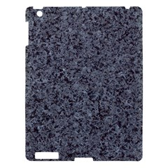 GRANITE BLUE-BLACK 3 Apple iPad 3/4 Hardshell Case