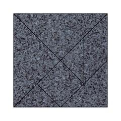 GRANITE BLUE-BLACK 3 Acrylic Tangram Puzzle (6  x 6 )