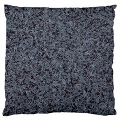 GRANITE BLUE-BLACK 3 Large Cushion Cases (One Side)