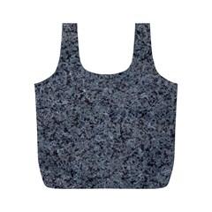 GRANITE BLUE-BLACK 3 Full Print Recycle Bags (M)