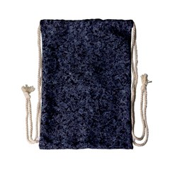 Granite Blue Black 3 Drawstring Bag (small)