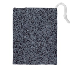 Granite Blue Black 3 Drawstring Pouches (xxl)