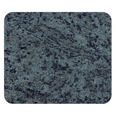 GRANITE BLUE-BLACK 2 Double Sided Flano Blanket (Small)