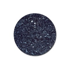GRANITE BLUE-BLACK 1 Magnet 3  (Round)