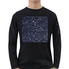 GRANITE BLUE-BLACK 1 Long Sleeve Dark T-Shirts