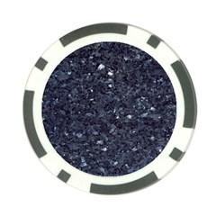 Granite Blue Black 1 Poker Chip Card Guards