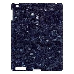 GRANITE BLUE-BLACK 1 Apple iPad 3/4 Hardshell Case
