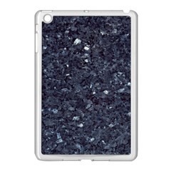 GRANITE BLUE-BLACK 1 Apple iPad Mini Case (White)