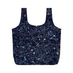 GRANITE BLUE-BLACK 1 Full Print Recycle Bags (M)