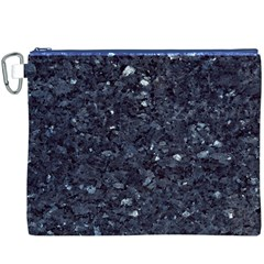 GRANITE BLUE-BLACK 1 Canvas Cosmetic Bag (XXXL)
