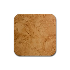 FAUX STONE Rubber Square Coaster (4 pack)