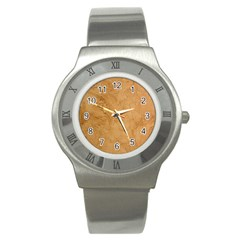 Faux Stone Stainless Steel Watches