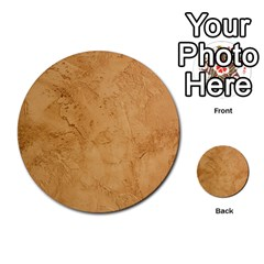 Faux Stone Multi Purpose Cards (round)