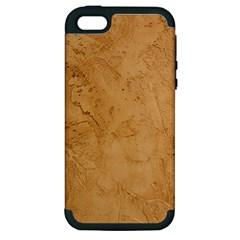 FAUX STONE Apple iPhone 5 Hardshell Case (PC+Silicone)