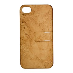 FAUX STONE Apple iPhone 4/4S Hardshell Case with Stand