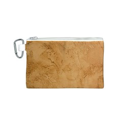 FAUX STONE Canvas Cosmetic Bag (S)