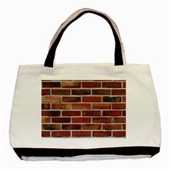 COLORFUL BRICK WALL Basic Tote Bag