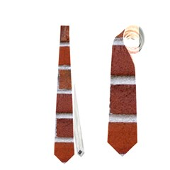 COLORFUL BRICK WALL Neckties (One Side)