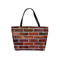 COLORFUL BRICK WALL Shoulder Handbags