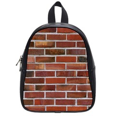 COLORFUL BRICK WALL School Bags (Small)