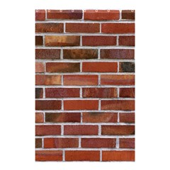 COLORFUL BRICK WALL Shower Curtain 48  x 72  (Small)