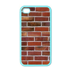 COLORFUL BRICK WALL Apple iPhone 4 Case (Color)