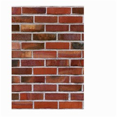 COLORFUL BRICK WALL Large Garden Flag (Two Sides)