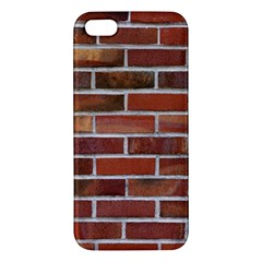 COLORFUL BRICK WALL Apple iPhone 5 Premium Hardshell Case