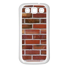 COLORFUL BRICK WALL Samsung Galaxy S3 Back Case (White)