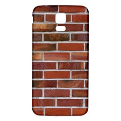 COLORFUL BRICK WALL Samsung Galaxy S5 Back Case (White)