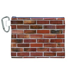 COLORFUL BRICK WALL Canvas Cosmetic Bag (XL)