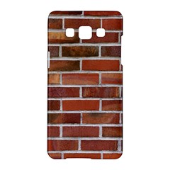 COLORFUL BRICK WALL Samsung Galaxy A5 Hardshell Case