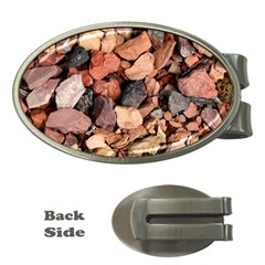 COLORED ROCKS Money Clips (Oval)