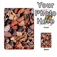 Colored Rocks Playing Cards 54 Designs