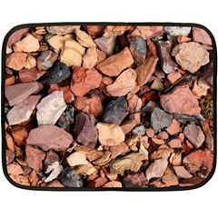 COLORED ROCKS Double Sided Fleece Blanket (Mini)