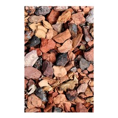 COLORED ROCKS Shower Curtain 48  x 72  (Small)