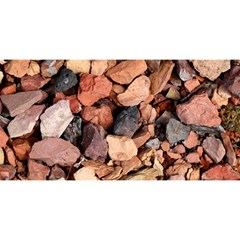 COLORED ROCKS YOU ARE INVITED 3D Greeting Card (8x4)