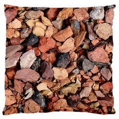 COLORED ROCKS Large Cushion Cases (One Side)