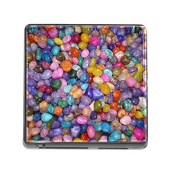 COLORED PEBBLES Memory Card Reader (Square)