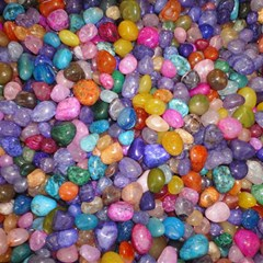 COLORED PEBBLES Magic Photo Cubes