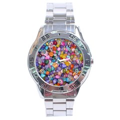 COLORED PEBBLES Stainless Steel Men s Watch