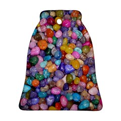 COLORED PEBBLES Bell Ornament (2 Sides)