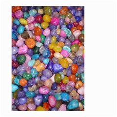 COLORED PEBBLES Small Garden Flag (Two Sides)