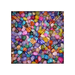 Colored Pebbles Acrylic Tangram Puzzle (4  X 4 )