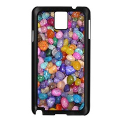 COLORED PEBBLES Samsung Galaxy Note 3 N9005 Case (Black)