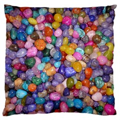 Colored Pebbles Standard Flano Cushion Cases (two Sides)