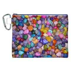 COLORED PEBBLES Canvas Cosmetic Bag (XXL)